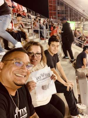 Michael attended University of Houston Cougars vs. Navy - NCAA Football on Nov 30th 2019 via VetTix