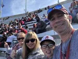 Ken attended Alabama Crimson Tide vs. Western Carolina - NCAA Football on Nov 23rd 2019 via VetTix