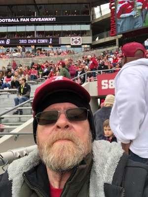 Bo attended Alabama Crimson Tide vs. Western Carolina - NCAA Football on Nov 23rd 2019 via VetTix