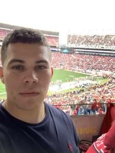 Eugenio attended Alabama Crimson Tide vs. Western Carolina - NCAA Football on Nov 23rd 2019 via VetTix