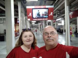 Brian attended Alabama Crimson Tide vs. Western Carolina - NCAA Football on Nov 23rd 2019 via VetTix