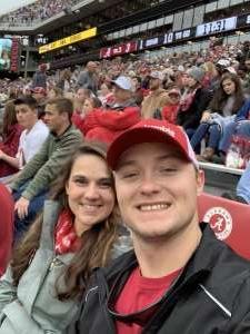 Benjamin attended Alabama Crimson Tide vs. Western Carolina - NCAA Football on Nov 23rd 2019 via VetTix