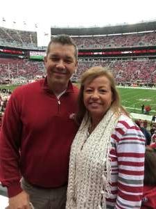 Wayne attended Alabama Crimson Tide vs. Western Carolina - NCAA Football on Nov 23rd 2019 via VetTix