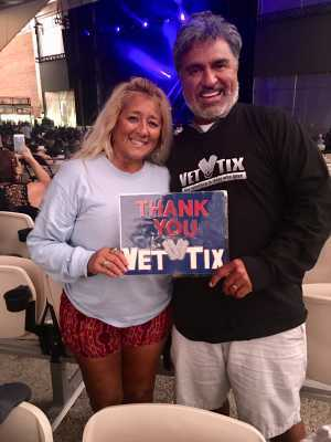 Arturo attended Ub40 Featuring Ali Campbell and Astro & Shaggy 40th Anniversary Tour - Reggae on Sep 6th 2019 via VetTix