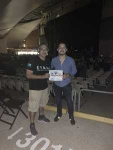 DANTE attended Ub40 Featuring Ali Campbell and Astro & Shaggy 40th Anniversary Tour - Reggae on Sep 6th 2019 via VetTix