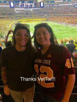 Ashley attended Advocare Classic: Oregon Ducks vs. Auburn Tigers - NCAA Football on Aug 31st 2019 via VetTix