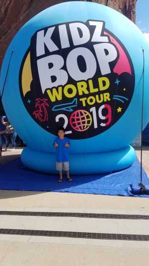Lynn attended Kidz Bop World Tour 2019 on Sep 1st 2019 via VetTix