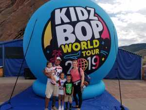 Nicole attended Kidz Bop World Tour 2019 on Sep 1st 2019 via VetTix
