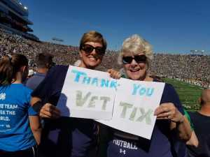 Matt attended University of Notre Dame Fightin Irish vs. New Mexico - NCAA Football on Sep 14th 2019 via VetTix