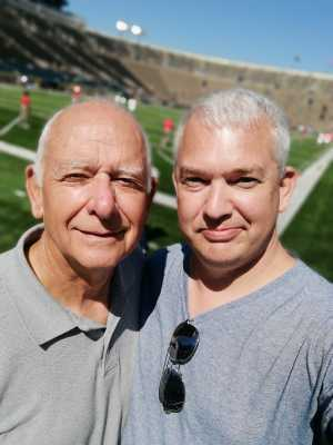 Andrew attended University of Notre Dame Fightin Irish vs. New Mexico - NCAA Football on Sep 14th 2019 via VetTix