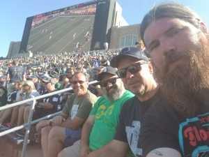 John attended University of Notre Dame Fightin Irish vs. New Mexico - NCAA Football on Sep 14th 2019 via VetTix