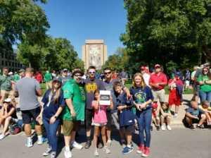 Leo attended University of Notre Dame Fightin Irish vs. New Mexico - NCAA Football on Sep 14th 2019 via VetTix