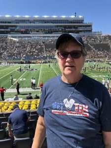 Sue attended University of Notre Dame Fightin Irish vs. New Mexico - NCAA Football on Sep 14th 2019 via VetTix