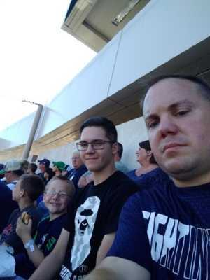 Brad attended University of Notre Dame Fightin Irish vs. New Mexico - NCAA Football on Sep 14th 2019 via VetTix