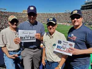 Phil attended University of Notre Dame Fightin Irish vs. New Mexico - NCAA Football on Sep 14th 2019 via VetTix