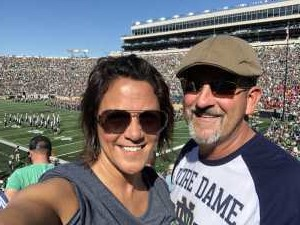 Jason attended University of Notre Dame Fightin Irish vs. New Mexico - NCAA Football on Sep 14th 2019 via VetTix