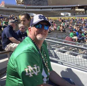 Heather attended University of Notre Dame Fightin Irish vs. New Mexico - NCAA Football on Sep 14th 2019 via VetTix