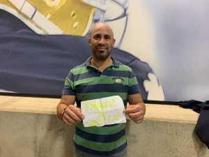 Louie attended University of Notre Dame Fightin Irish vs. New Mexico - NCAA Football on Sep 14th 2019 via VetTix