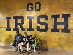Terrence attended University of Notre Dame Fightin Irish vs. New Mexico - NCAA Football on Sep 14th 2019 via VetTix
