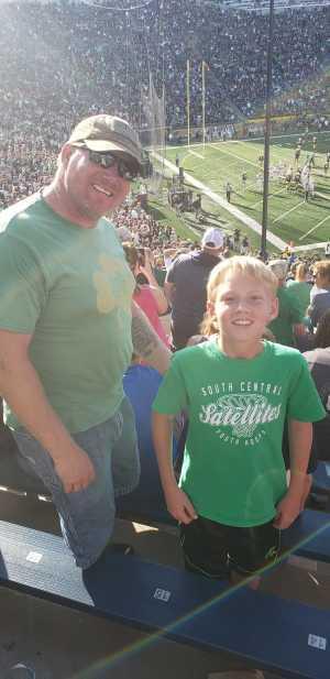 Nick attended University of Notre Dame Fightin Irish vs. New Mexico - NCAA Football on Sep 14th 2019 via VetTix