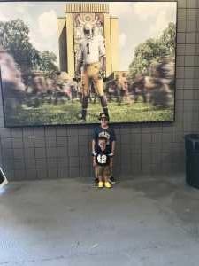 Jose attended University of Notre Dame Fightin Irish vs. New Mexico - NCAA Football on Sep 14th 2019 via VetTix