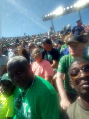 Jerry attended University of Notre Dame Fightin Irish vs. New Mexico - NCAA Football on Sep 14th 2019 via VetTix