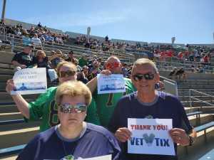 Gary attended University of Notre Dame Fightin Irish vs. New Mexico - NCAA Football on Sep 14th 2019 via VetTix