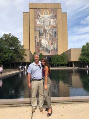 Martin attended University of Notre Dame Fightin Irish vs. New Mexico - NCAA Football on Sep 14th 2019 via VetTix