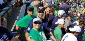 Joseph attended University of Notre Dame Fightin Irish vs. New Mexico - NCAA Football on Sep 14th 2019 via VetTix