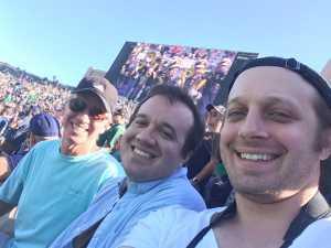 Mark attended University of Notre Dame Fightin Irish vs. New Mexico - NCAA Football on Sep 14th 2019 via VetTix