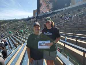 Erin attended University of Notre Dame Fightin Irish vs. New Mexico - NCAA Football on Sep 14th 2019 via VetTix