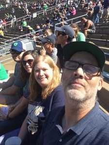 Jeffrey attended University of Notre Dame Fightin Irish vs. New Mexico - NCAA Football on Sep 14th 2019 via VetTix