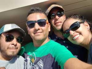 Juan attended University of Notre Dame Fightin Irish vs. New Mexico - NCAA Football on Sep 14th 2019 via VetTix