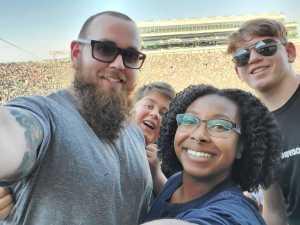 Jeffery attended University of Notre Dame Fightin Irish vs. New Mexico - NCAA Football on Sep 14th 2019 via VetTix