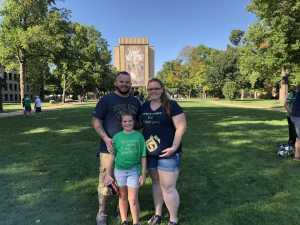 Troy attended University of Notre Dame Fightin Irish vs. New Mexico - NCAA Football on Sep 14th 2019 via VetTix