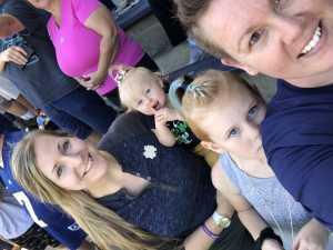 Tabitha attended University of Notre Dame Fightin Irish vs. New Mexico - NCAA Football on Sep 14th 2019 via VetTix