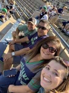 Randall attended University of Notre Dame Fightin Irish vs. New Mexico - NCAA Football on Sep 14th 2019 via VetTix