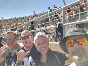 James Harrell attended University of Notre Dame Fightin Irish vs. New Mexico - NCAA Football on Sep 14th 2019 via VetTix