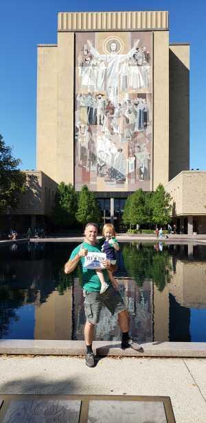 Leeanne Lollar attended University of Notre Dame Fightin Irish vs. New Mexico - NCAA Football on Sep 14th 2019 via VetTix