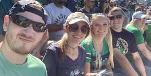 Clois attended University of Notre Dame Fightin Irish vs. New Mexico - NCAA Football on Sep 14th 2019 via VetTix