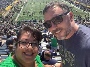 Timothy attended University of Notre Dame Fightin Irish vs. New Mexico - NCAA Football on Sep 14th 2019 via VetTix