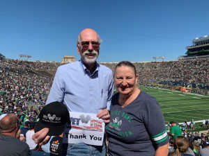 Peter attended University of Notre Dame Fightin Irish vs. New Mexico - NCAA Football on Sep 14th 2019 via VetTix