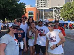 Nick attended Auburn Tigers vs. Tulane Green Wave- NCAA Football on Sep 7th 2019 via VetTix