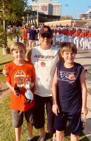Kimberly attended Auburn Tigers vs. Tulane Green Wave- NCAA Football on Sep 7th 2019 via VetTix