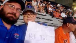 Robert attended Auburn Tigers vs. Tulane Green Wave- NCAA Football on Sep 7th 2019 via VetTix
