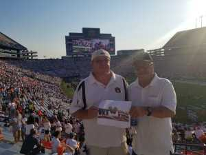 Robby attended Auburn Tigers vs. Tulane Green Wave- NCAA Football on Sep 7th 2019 via VetTix