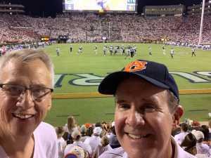 John attended Auburn Tigers vs. Tulane Green Wave- NCAA Football on Sep 7th 2019 via VetTix