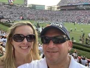 Chris attended Auburn Tigers vs. Tulane Green Wave- NCAA Football on Sep 7th 2019 via VetTix