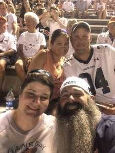 Stuart attended Auburn Tigers vs. Tulane Green Wave- NCAA Football on Sep 7th 2019 via VetTix