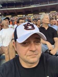 Dennis attended Auburn Tigers vs. Tulane Green Wave- NCAA Football on Sep 7th 2019 via VetTix
